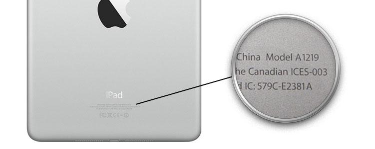 วิธีตรวจรุ่น iPad เพื่อซื้อ Case