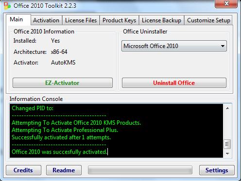 แก้ปัญหา Office 2010, failed to inject memory