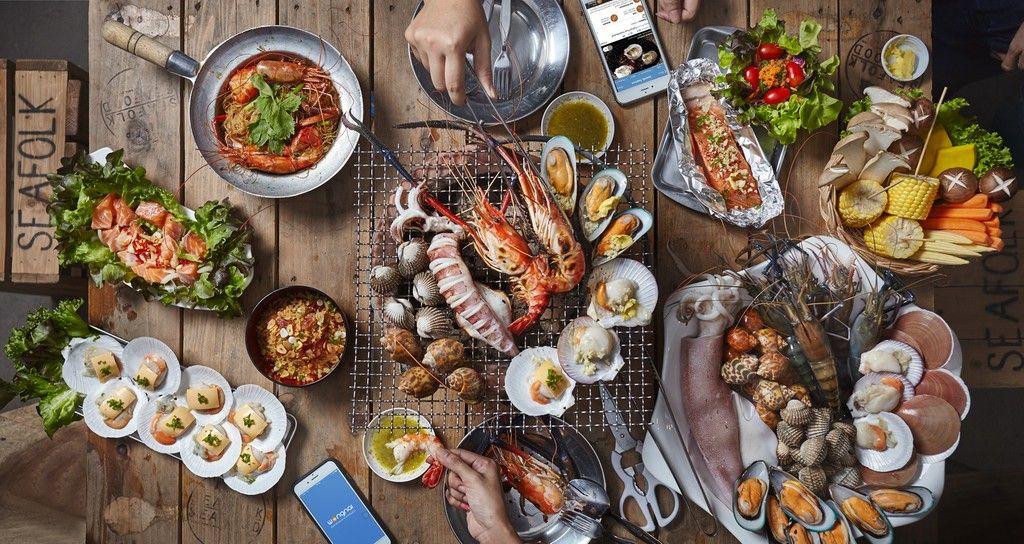 อาหารทะเล 88 รายการพร้อมราคา ณ บางแสน
