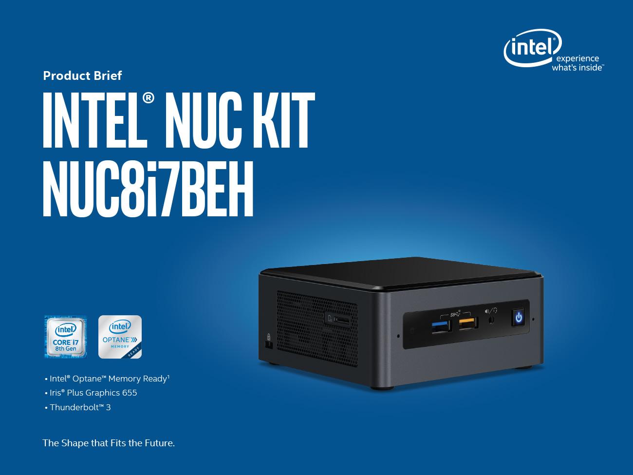 NUC8i7BEH รุ่น I7-8559U บอกเลยเครื่องแรงจริง