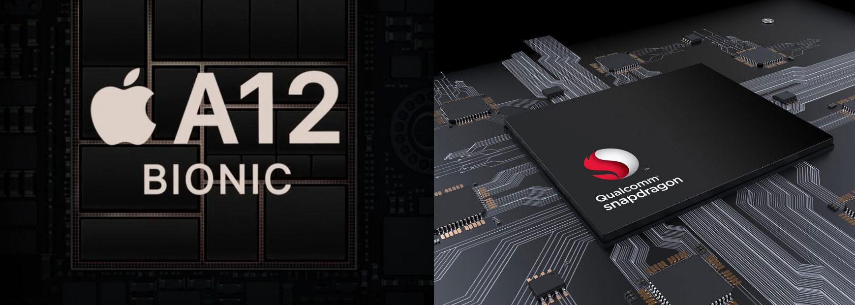 เทียบคะแนน iPhoneXS CPU A12 และ Snapdragon 855