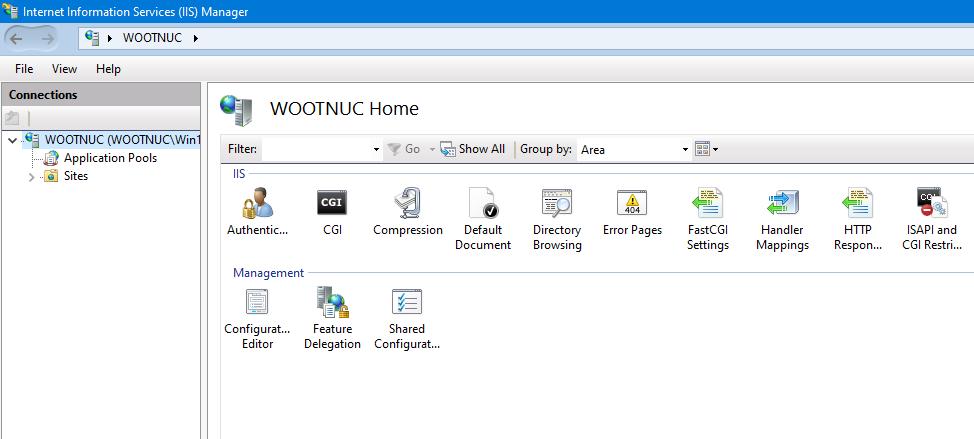 การสร้าง FTP และเปลี่ยนไดเรกทอรี Directory บน IIS 10
