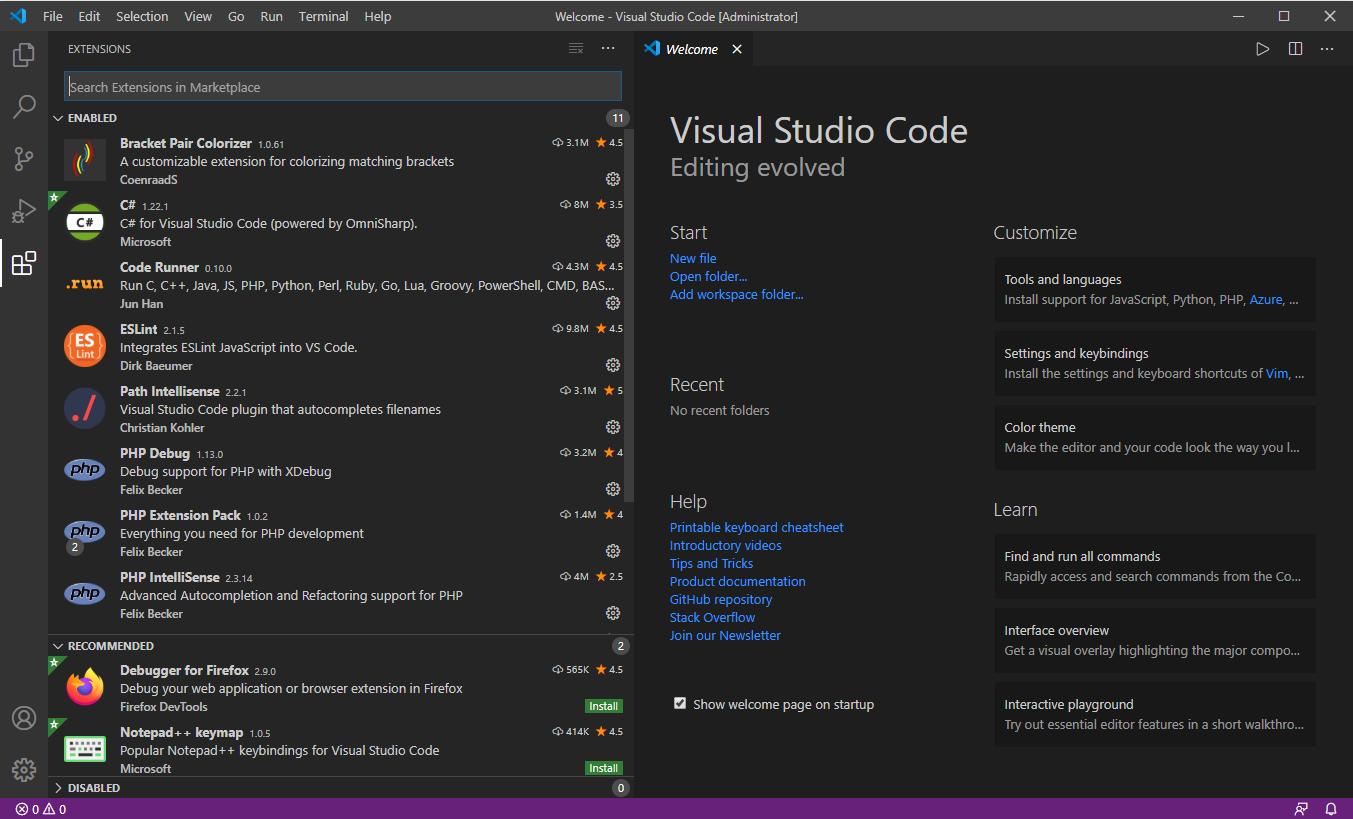 Visual Studio Code หรือ VS Code Extension เสริมที่จำเป็น