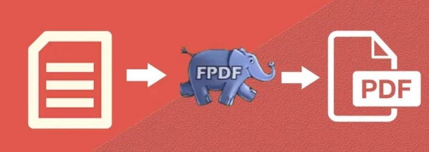FPDF คำสั่ง Output ส่งออกเป็น PDF