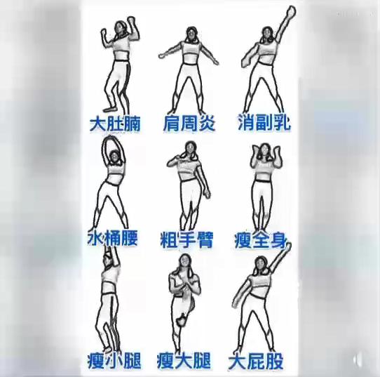รวมท่าออกกำลังกาย ให้ร่างกายแข็งแรง