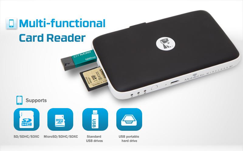MobileLite G2 แชร์ WIFI พร้อมต่อเน็ตได้