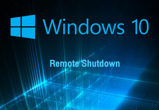 Remote Shutdown Windows Server