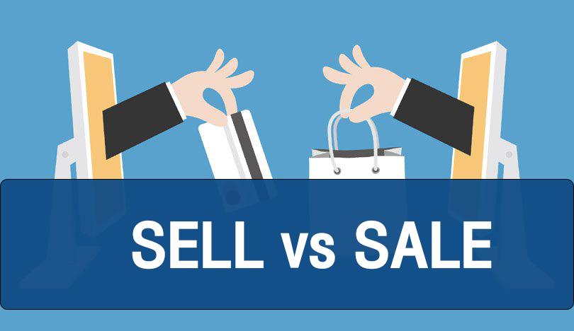 "Sell กับ Sale หมายถึง ""ขาย"" แต่ใช้ต่างกัน"